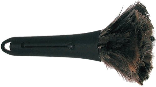 Heim & Büro Staubwedel Straußenfeder Mini 32 cm   Handstaubwischer   Staubwischer   Abstauben   Duster
