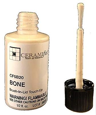 Ceramifix .5 oz Bone Touch up Paint for Tile, Appliances and More