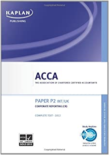 Acca Paper P2 Int
