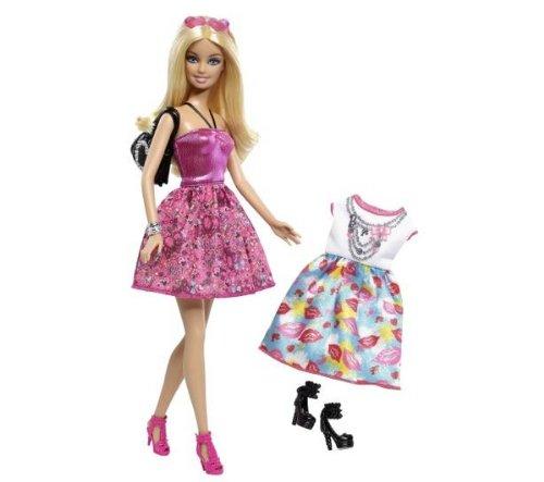 Barbie - X4845 - Poupée - 2 robes & accessoires