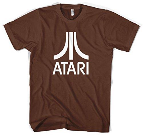 Atari Unisex T-Shirt (Brown, XXL)