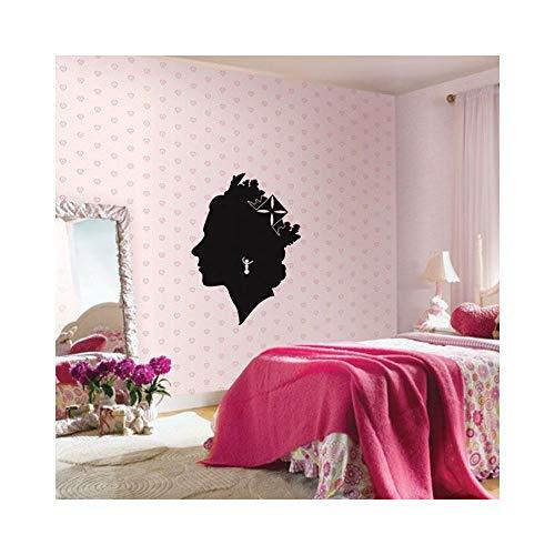 stickers muraux miroir pas cher Salon Queen pour chambre
