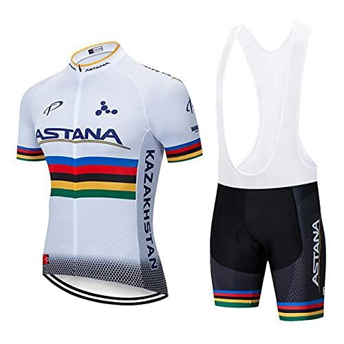 Ropa De Bicicleta De Montaña, Raza De Ciclo De Ciclismo De Manga Corta Ropa De Bicicleta, Adaptación Inconsútil Camiseta De Malla Transpirable