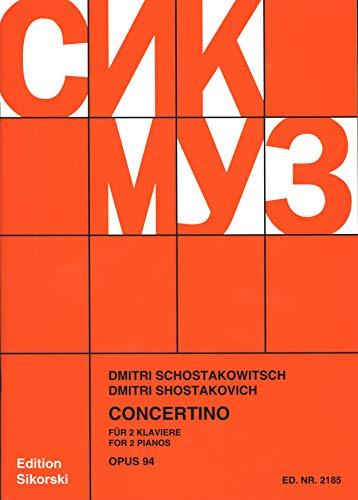 Concertino Op 94. Klavier, Klavier zu 4 Händen