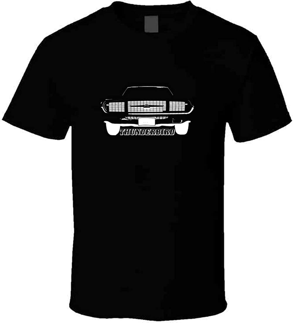 CarGeekTees 1967 Thunderbird gift Grill View Dark with Name free shipping Model Col