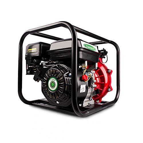 ZEMANOR Water Transfer Pump 7HP 230cc 4-Stroke Gasoline Engine Portable Water Pump 3600-Rpm High Horsepower General Fresh Water Garden Farmland Drain Lake Gasoline Water Pump (1.5''&2'')