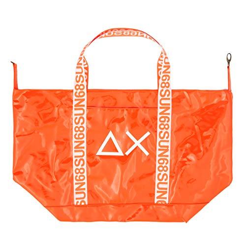 SUN 68 Beach Bag Borsone Arancione Unisex X19103-64