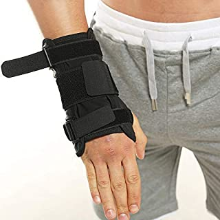 Wrist Support/Wrist Strap/Wrist Brace/Hand Support [Single]& Carpal Tunnel— Suitable for Both Right and Left Hands (Adjustable Wrist Support)