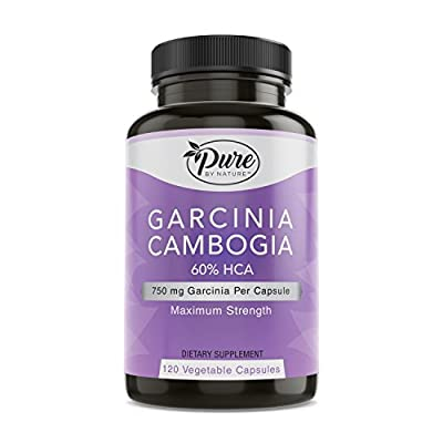 Pure By Nature 100% Garcinia Cambogia with 60% HCA