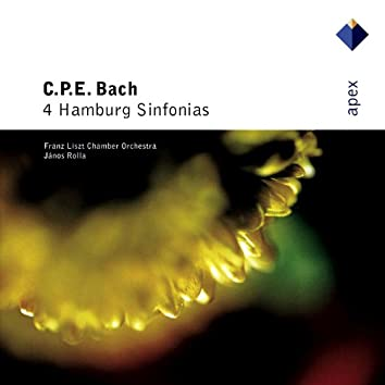 Bach, CPE : 4 Hamburg Sinfonias  -  Apex