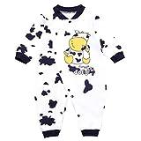Binwwe Baby Set Strampler Motiv: Kuh | Babyset für Neugeborene & Kleinkinder | Größe: 6-9 Monate (80) (6-9M, B)