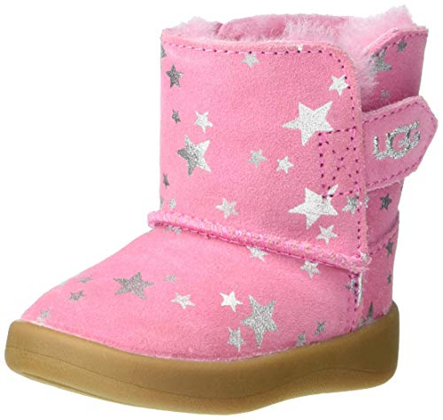 UGG unisex baby Keelan Stars Fashion Boot, Wild Berry, 4-5 Infant US