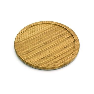 Lipper International 8301 Bamboo Wood 10  Kitchen Turntable