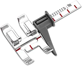 DREAMSTITCH 820677096 Snap On Adjustable Guide Presser Foot for Pfaff Group C,D,E,F,G,J,K IDT System Sewing Machine 820677096 (2)
