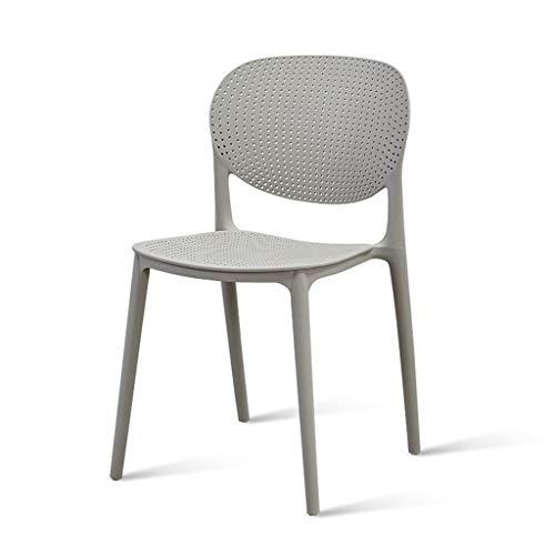 Tuinstoel, stapelbare plastic zijstoel conferentie stoel bureaustoel computer stoel lounge stoel make-up stoel bureau stoel