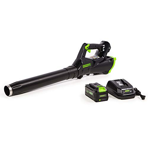 Greenworks 40V 115MPH Brushless Axial Blower, 3.0 Ah Battery, LB-430