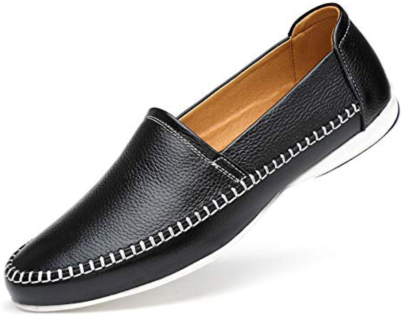 LOVDRAM Chaussures Hommes Nouveau Chaussures De Sport Hommes Set Foot Affaires First Layer Chaussures en Cuir