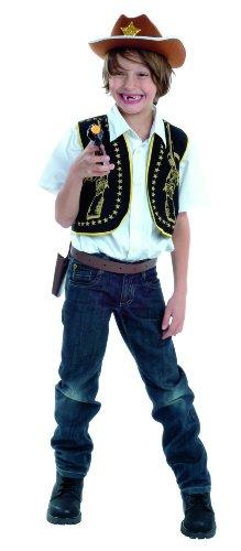 Cesar-Costume da Travestimento, 80840040 Giacca da Cowboy