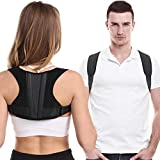 Posture Corrector For Men And Women, Adjustable Upper Back Brace For Clavicle Support