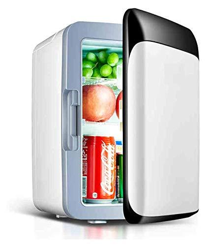 Mini refrigerador refrigerador de refrigerador y refrigerador de calentamiento con una estructura independiente independiente de enfriamiento rápido de 10L Rapid ( Color : White , Size : 23x26x35cm )