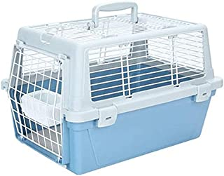 Pet Travel Carrier Flight Case Cats and Dogs Air Box Small Medium Dog Cat Cages Portable Out-of-Box Out Pack Bag