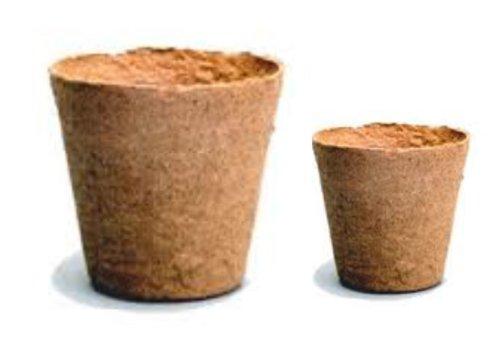 Nutley's Jiffy Lot de 100 Pots sans Tourbe 6 et 8 cm