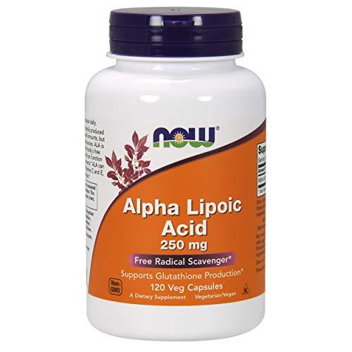 Now 250Mg Acido Alfa Lipoico 120 Capsule - 120 g