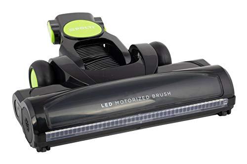 Polti Cepillo con ruedas y rodillo LED para escoba de aspiradora Forzaspira Slim SR110 verde