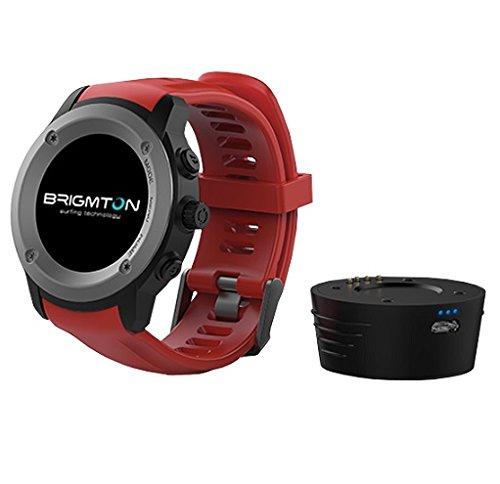 Brigmton BWATCH-100GPS-R 1.3' IPS GPS (satélite) Negro, Rojo Reloj Inteligente - Relojes Inteligentes (3,3 cm (1.3'), IPS, Pantalla táctil, GPS (satélite), 88 g, Negro, Rojo)