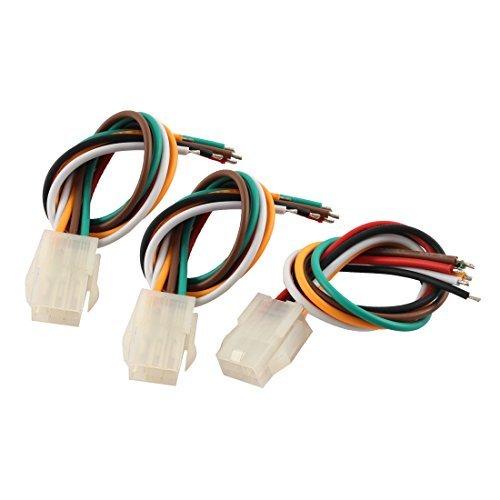 DealMux 5557 6 Clavijas Paso de 4,2 mm Conector Macho del Cable...