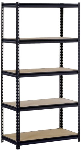 "BestMassage 6 Tire Wire Shelving Unit NSF Storage Shelves Large Heavy Duty Metal Shelf Organizer Height Adjustable Commercial Grade Steel Rack 2100 LBS Capacity with Wheels 82""x48""x18"",Black"