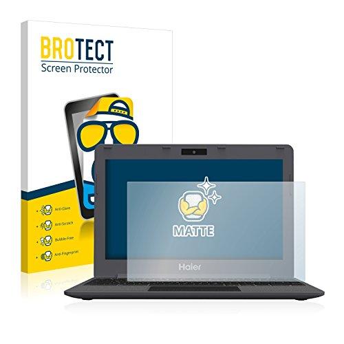 BROTECT 2X Entspiegelungs-Schutzfolie kompatibel mit Haier Chromebook 11 Bildschirmschutz-Folie Matt, Anti-Reflex, Anti-Fingerprint