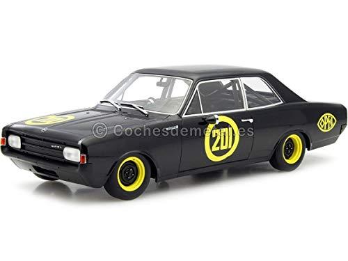 Opel Rekord C, No.201, Schwarze Witwe, 1967, Modellauto, Fertigmodell, BoS-Models 1:18