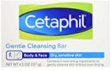 Cetaphil Gentle Cleansing Bar for Dry/Sensitive Skin 4.50...