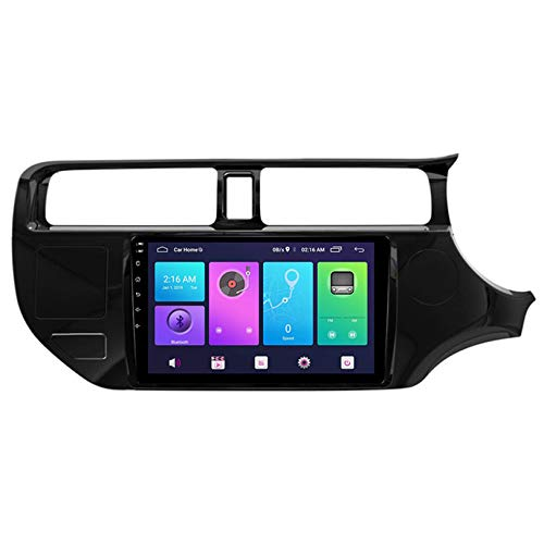 WHL.HH Coche GPS Navegación 10 Pulgadas Pantalla táctil Cabeza Unidad Multimedia Jugador Marcha atrás Imagen 4G WiFi Bluetooth para K3 Rio 2011-2015 Estéreo Radio Androide Sistema,S3