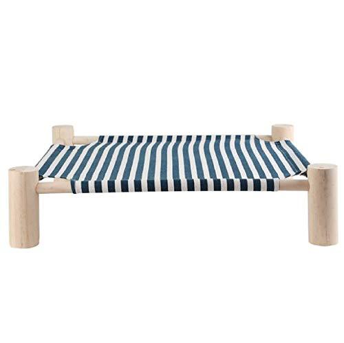 GDDYQ Kattenhangmat, zomer ademend kattennest afneembaar huisdier opknoping bed om vocht te isoleren, geschikt voor katten en kleine honden 4