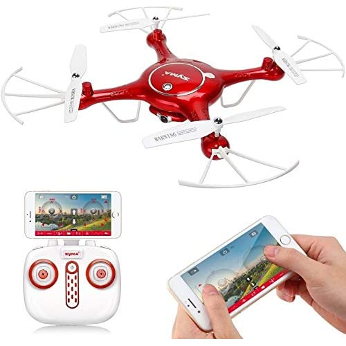 SUPER TOY USB Charger and SYMA X5UW RC Super Drone with WiFi 720P HD Camera (MultiColor)