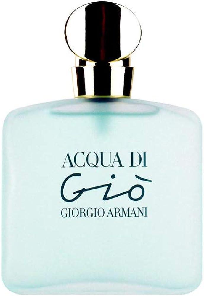 Giorgio armani acqua di giò, eau de toilette, profumo per donna, 50 ml 123424