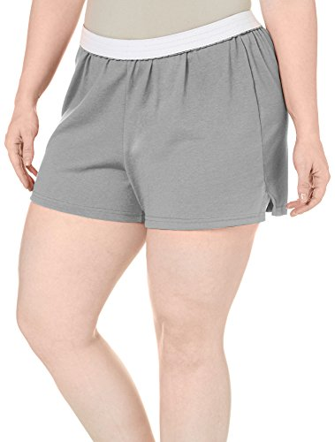 Soffe Womens Plus Size The Authentic Short, Oxford 2X