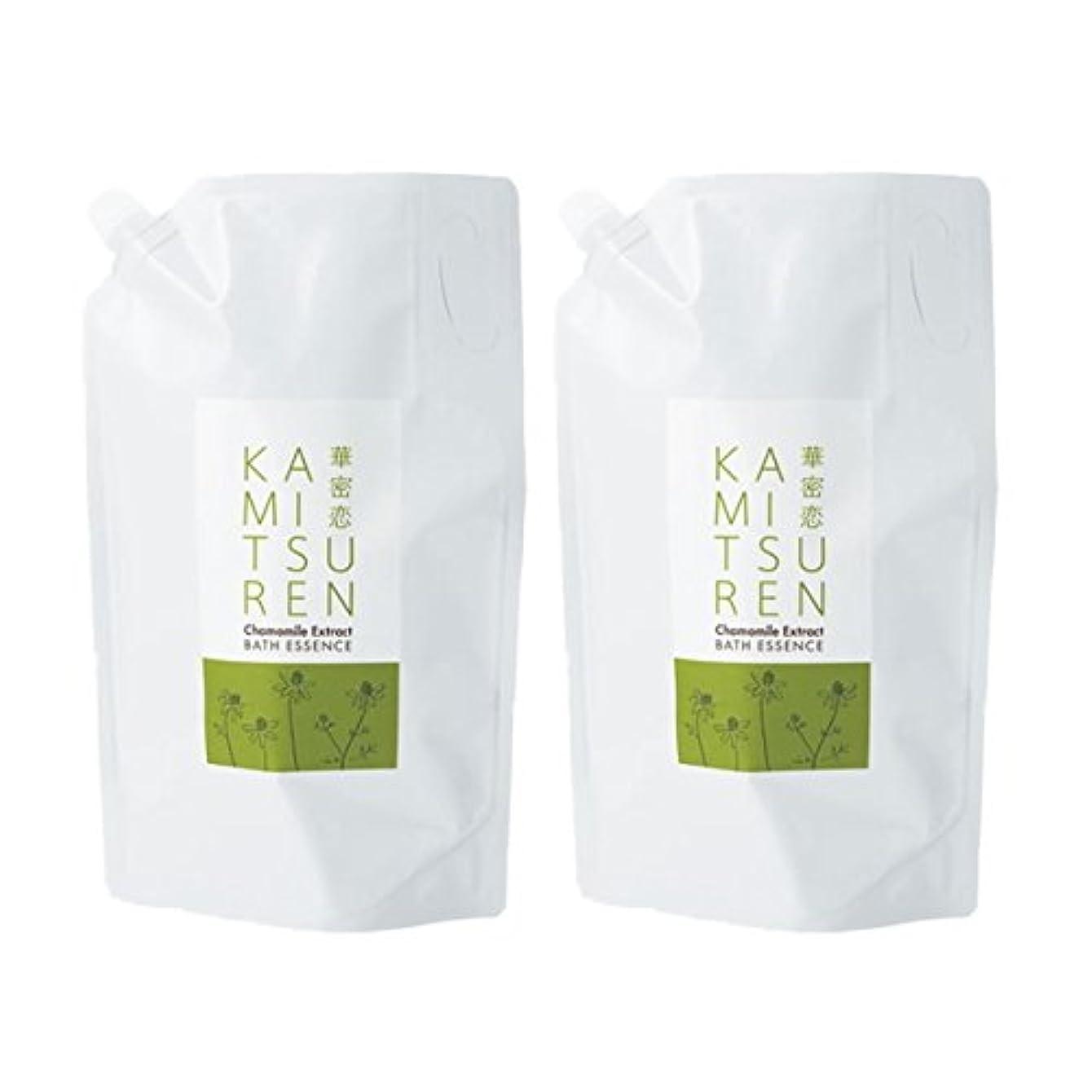 支払うメルボルン公平な華密恋 薬用入浴剤 特大 詰替え用 (新パッケージ) 1500mL(1.5L)×2袋セット