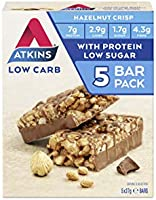 Atkins Crisp Low Carb High Protein Snack Bar