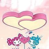Zoom IMG-1 behwu plafoniera 32wled pink love