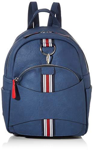 Rieker Damen Rucksackhandtasche H1073, Blau (Pilot/Rosso), 320x145x250 cm