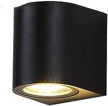 YBWL جدار الضوء في الهواء الطلق حديقة مصباح الألومنيوم IP65 LED إضاءة ماء الديكور معدات الحديثة شمال أوروبا مناسبة لغرفة ا...