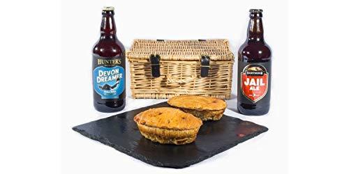 Devon Pie & Beers Hamper - Standard Box