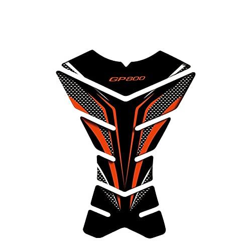 Paraserbatoio per Moto Paraserbatoio Moto Decalcomania Del Motociclo Paraserbatoio Del Gas Protector Adesivo Moto Paraserbatoio Per Gilera GP 800 GP800 adesivo serbatoio carburante moto (Color : 19)