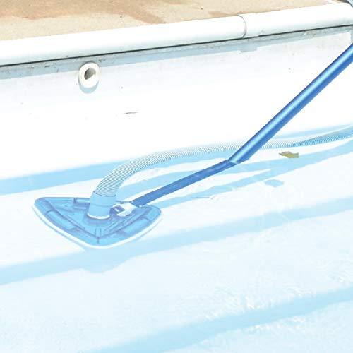 Milliard See-Thru Pool Vacuum Head/Triangular, Weighted Base/for Inground