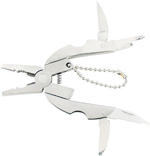 PEARL Miniwerkzeug: 9in1 Taschen-Werkzeug-Set
