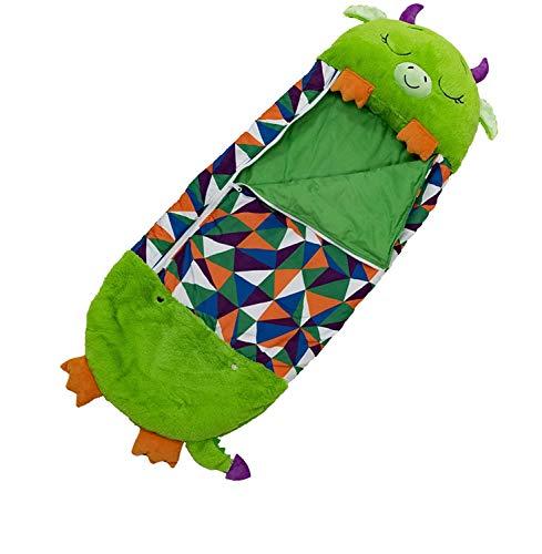 for Kids Sleeping Bag Shark Sleeping Dragon Pillow & Sleepy Sack- Comfy, Cozy, Compact, Super Soft, Warm, All Season, Sleeping Bag with Pillow 54'x 20', Dragon