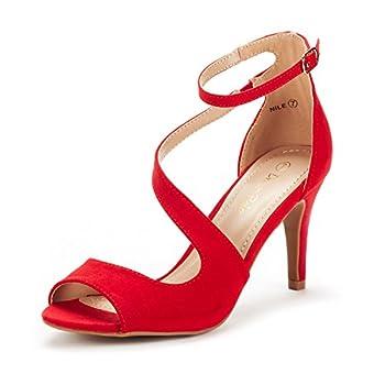 Best red open toe pump Reviews